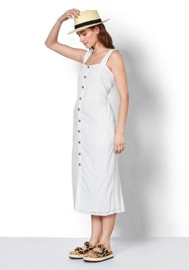 hush Cossura Broderie Dress / need to have white sundress - flipped