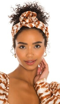 Cult Gaia Turband Amber Multi | knot hairbands | fashion turbans