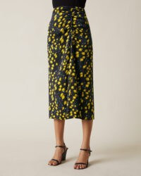 JIGSAW DRIFTING DITSY MIDI SKIRT / ruched floral skirts