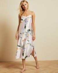 TED BAKER FLAURA Elegant strappy midi nightgown ~ strappy nightgowns ~ slip style nighties