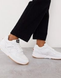 Ellesse NYC trainers in triple white