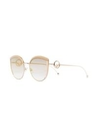 Fendi Eyewear F is Fendi cat-eye sunglasses | glamorous eyewear