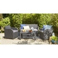 Oklahoma 4 Seater Sofa Set – Keter – Wayfair