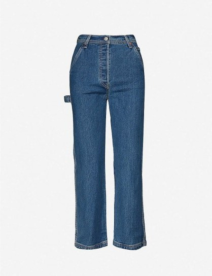 LEVIS Ribcage straight high-rise jeans in Nine To Five - flipped