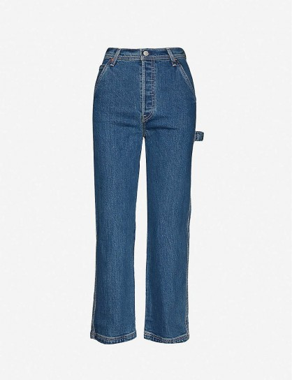 LEVIS Ribcage straight high-rise jeans in Nine To Five