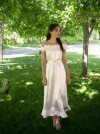 REFORMATION Limoncello Dress ~ off the shoulder summer dresses