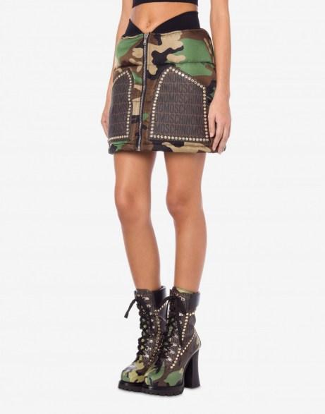 LOST & FOUND NYLON MINI SKIRT / Moschino clothing