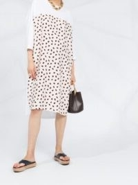 Marni Bubble-print dress / t-shirt dresses
