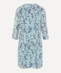 ERDEM Meadow Silk Shift Mini-Dress