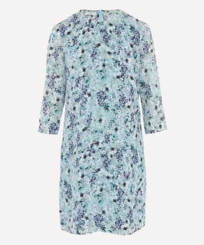 ERDEM Meadow Silk Shift Mini-Dress - flipped