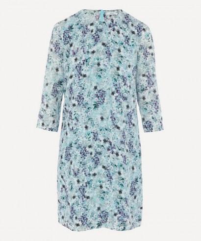 ERDEM Meadow Silk Shift Mini-Dress