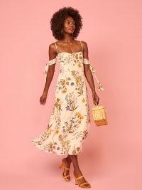 REFORMATION Mimosa Dress Frolic