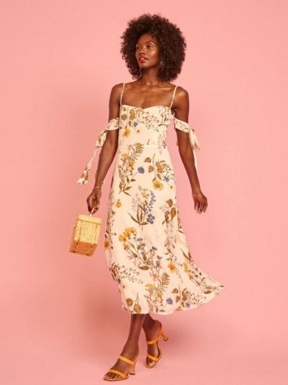 REFORMATION Mimosa Dress Frolic - flipped