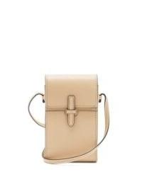 HUNTING SEASON Mini leather cross-body bag ~ small luxe crossbody ~ petite beige bags