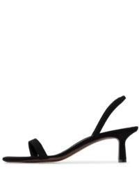 NEOUS Tulip 55mm slingback sandals ~ black minimal slingbacks