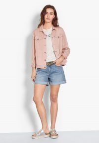 hush Nesta Jacket Pink / summer wardrobe staple
