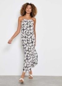 Mint Velvet Olivia Print Maxi Sun Dress | effortless summer dresses
