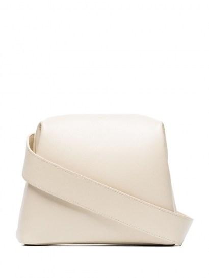 Osoi mini Brot crossbody bag / small leather bags - flipped