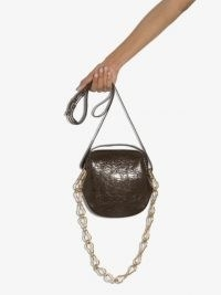 Bottega Veneta mini Jodie clutch / small chain strap bags