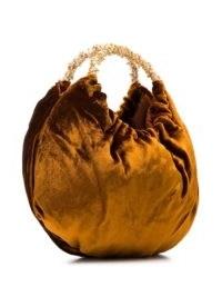 Rosantica Impero crystal-embellished bag   small velvet bags