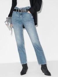 RtA Dexter high-waisted jeans