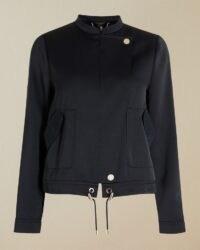 TED BAKER GATRIA Satin utility jacket