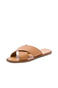 Seychelles Total Relaxation Sandal in Vacchetta ~ crossover flats