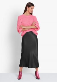 hush Simone Slinky Skirt Black / wardrobe essential