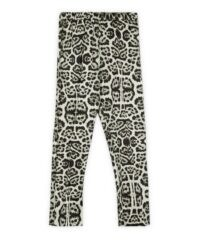 DRIES VAN NOTEN Snow Leopard Print Trousers