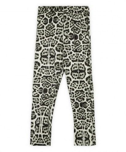 DRIES VAN NOTEN Snow Leopard Print Trousers - flipped