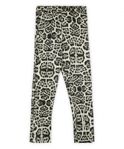 DRIES VAN NOTEN Snow Leopard Print Trousers