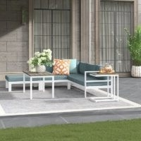 Angeles Outdoor 5 Seater Sofa Set – Sol 72 Outdoor – Wayfair – Stylish Garden