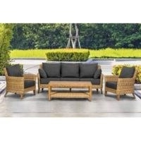Deja 5 Seater Rattan Sofa Set – Sol 72 Outdoor – Wayfair – garden furniture
