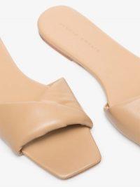 Studio Amelia 3.31 Leather Slides / casual luxe