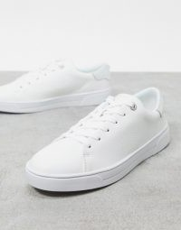 Ted Baker cleari leather trainers – Asos