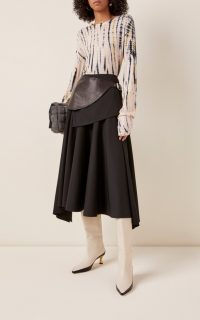 Proenza Schouler Tie-Dyed Cotton Long-Sleeve T-Shirt