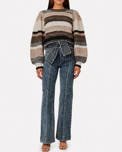 ULLA JOHNSON Wade Tie-Waist Jeans - flipped