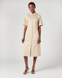 JIGSAW UTILITY TRENCH DRESS / utilitarian dresses