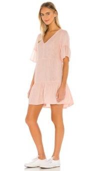 Velvet by Graham & Spencer Chesney Dress Allure   pull on gauze fabric dresses