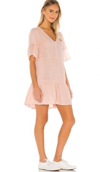 Velvet by Graham & Spencer Chesney Dress Allure | pull on gauze fabric dresses - flipped