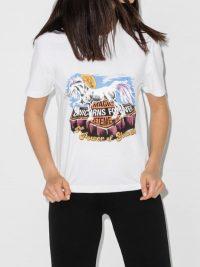 Vetements Unicorn Print Cotton T-Shirt