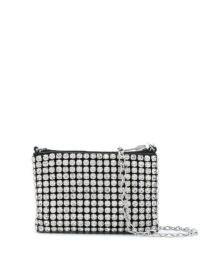 Alexander Wang Wangloc nano pouch / mini crystal crossbody bags