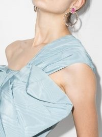 Anton Heunis pearl crystal hoop earrings ~ glamorous hoops ~ statement evening jewellery ~ party / event glamour