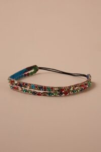 Deepa Jill Embellished Hairband | multicoloured crystals | multi coloured crystal headbands | feminine hair accessory