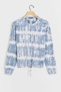 Namur Tie-Dye Sweatshirt – cotton pullover sweat top