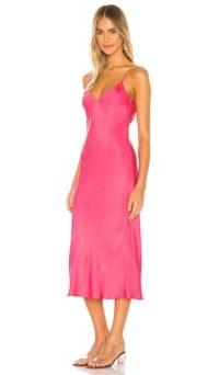 Cali Dreaming X REVOLVE Vaea Slip Dress Hot Pink