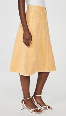 Closed Ellen Skirt Bamboo ~ classic A line skirts - flipped
