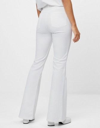Bershka Flared jeans White | denim flares