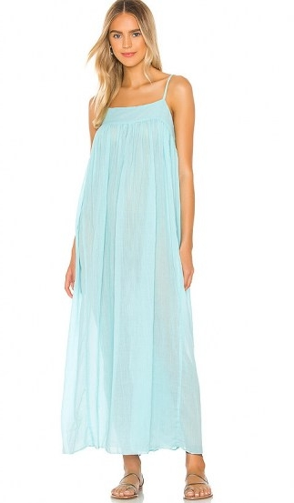 Free People On My Own Maxi Slip Dress | long cami dresses
