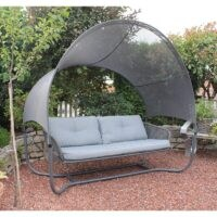 Diane Swing Seat by Freeport Park – a delightful garden swing sofa for hours of relaxation